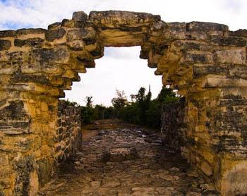 zonas arqueológicas de Cozumel