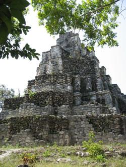 Ruinas Mayas en Isla Mujeres