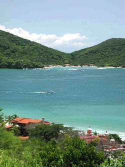 Playa las Gatas en Ixtapa