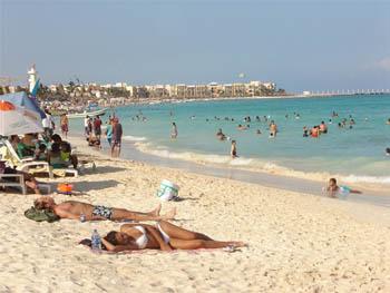 Playas en Playa del Carmen