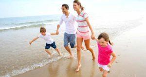 Recomendaciones para salir con los hijos de vacaciones