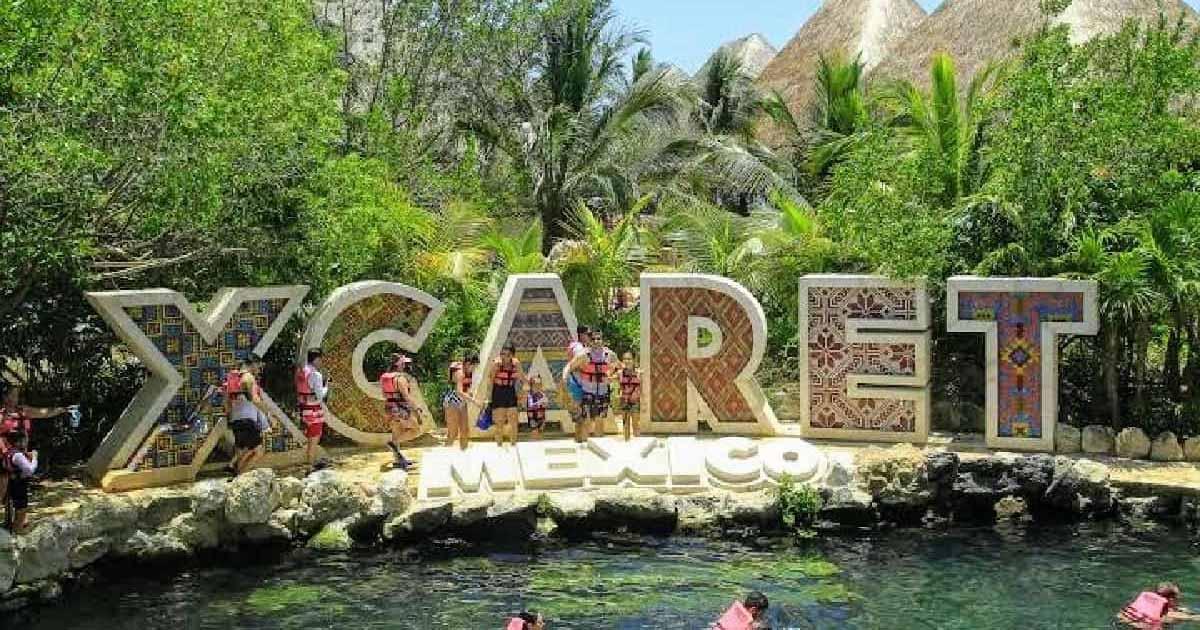 Parque ecológico Xcaret Playa del Carmen Riviera Maya
