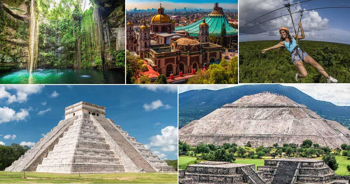 Tours y Excursiones en destinos en México